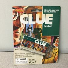 Clue Keychain Sized Real Mini Game Box With Board & Pieces New Sealed