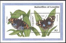 Lesotho 1993 comparsi Pansy Farfalla/Farfalle/Insetti/NATURA 1 V M/S (b1290)