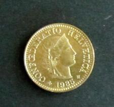 Münze 5 Rappen Schweizer Franken 1985 aus Umlauf gültiges Zahlungsmittel