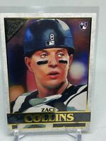 2020 Topps Gallery Zack Collins Rookie Chicago White Sox #128
