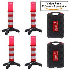 Red LED Roadside Beacon Safety Strobe Light Warning Emergency Road Flares  Sign