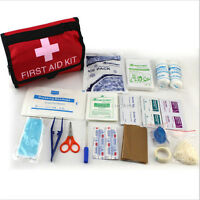 QW Survival Traveller First Aid KIT For Car Home Travel Work Office Boat