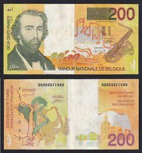 Belgio 200 francs 1995 BB/VF  B-05