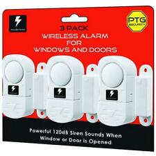 3-12PK WIRELESS WINDOW DOOR ALARM CHIME HOME BURGLAR SECURITY SYSTEM MAGNETIC SE
