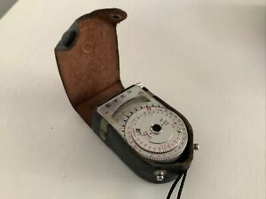 EVER Selium Cell Vintage Light meter, with Case, for Vintage camera Working