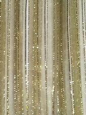 5M 6mm Thin Olive Green Gold Edged Organza Ribbon Trim Card Making Scrapbooking