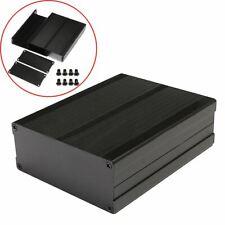 Split Body Black Extruded Aluminum Enclosure Instrument Box Mayitr DIY Amplifier