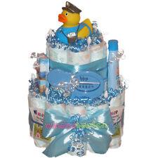 "★ Windeltorte Ente ""Herbert"" ★ Geschenk zur Geburt Babyparty Taufe. Badeente"