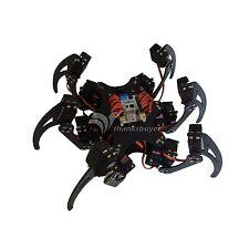18DOF Aluminium Hexapod Spider Six 3DOF Legs Robot Frame Kit Fully