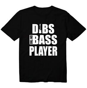 Dibs On The Bass Player Unisex Kid Youth T-Shirt