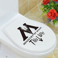 WC Aufkleber Ministry Of This way Toilette Sticker L2J3 Wandatto Deko
