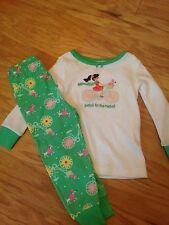 NWT Gymboree Petal to the Metal Flower Poodle Bicycle Pajamas PJs Gymmies 18 24
