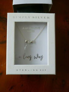 Beautiful Simply Silver necklace.