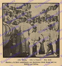 Ostasiengeschwader SMS Iltis Kpt. Hugo Pohl Oblt. Schultz v. Ratzmer China 1901