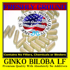 GINKGO BILOBA LEAF With Absolutely No Additives Extra High Potency 100 V Capsule