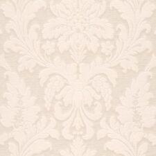 Rollos de papel pintado barrocos color principal gris