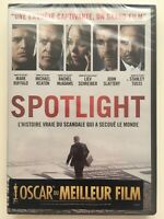Spotlight DVD NEUF SOUS BLISTER Mark Ruffalo, Michael Keaton, Liev Schreiber