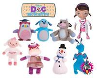"""NEW OFFICIAL 12"""" DOC MCSTUFFINS PLUSH SOFT TOYS HALLIE LAMBIE STUFFY CHILLY DOC"""