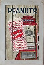 Home Theater Movie Cinema Snack Bar Home Decor Rec Room Hot Peanuts Sign