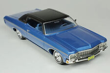 1:43 Goldvarg Collection 1970 Chevrolet Impala Custom Coupe mulsanne blue GC029B