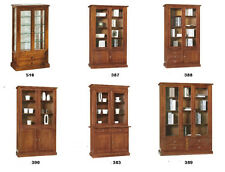 Display Cabinets IN Solid Wood Dye Walnut