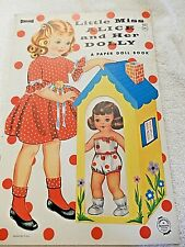 Vintage UNUT Little Miss Alice and Her Dolly