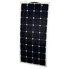 Solar Panel Semi Flexible 120W/12V, mono SPR cells, EFTE, for camper, boats