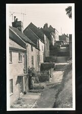 Gloucestershire Glos TETBURY Chipping Steps c1950/60s? RP PPC by Lilywhite