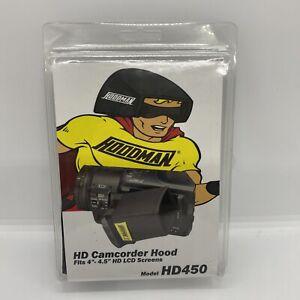 "Hoodman HD Camcorder Hood (fits 4-4.5"" LCD Screens) Model HD450"