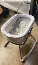 Graco 2065966 Duet Glide Lx Gliding Infant Baby Swing Center Zagg White Gray