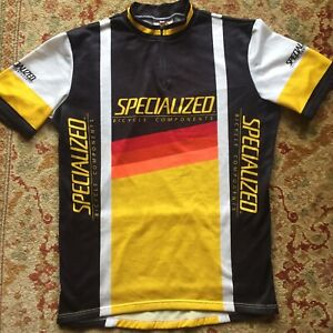 SPECIALIZED ~ Cycling Jersey ~ Short Sleeve 1/4 Zip ~ Size 6 ~ Made in Italy ~