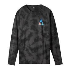 """HUF Worldwide """"Acid Skull TT"""" Long Sleeve Tee (Black) Men's T-Shirt"""