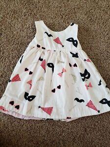 Baby Girl Dress From Kate Spade, Sleeveless Pale Pink Dress, Mask Props Dress