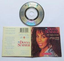 "DONNA SUMMER - I DON'T WANNA GET HURT 3 Track 3""CD 1989"