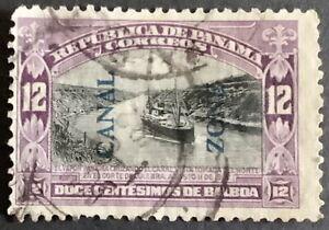US Panama Canal Zone. 12 c. Blue Overprint. 1917. Sc. 49. No reserve $1