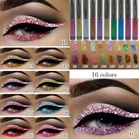 Wasserdichter Shiny Eyeshadow Glitter Liquid Eyeliner Makeup Eyeliner Stift