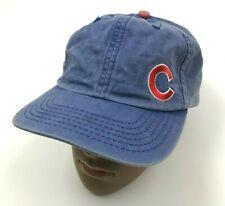 Vintage NEW ERA Chicago Cubs Chapeau Bonnet Casquette Taille Unique Adulte Bleu