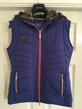 Just Togs Bexley Gilet In Blue