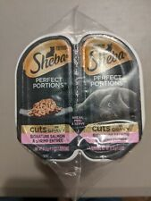 Sheba Perfect Portions Cuts In Gravy, Signature Salmon & Shrimp Entrees