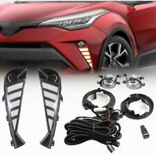 DRL Daytime running lights 2020-21 For TOYOTA C-HR CHR LED Bulb Switch Cable