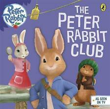 Peter Rabbit Animation: Peter's Club by Beatrix Potter Children's Story Book NEW