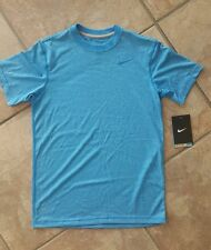 NWT- Boy's Nike Short Sleeve T-Shirt. Nike Dri Fit Tee. Striped. Size Small