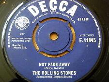 """ROLLING STONES - NOT FADE AWAY  7"""" VINYL"""