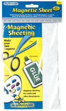"""Master Magnetic 07014 5"""" x 8"""" Adhesive Magnetic Magnet Sheet"""