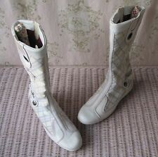 Rare! TIMBERLAND Vtg 60s 70s T-Bar Mary Jane Leather Biker Racer Trainer Boots
