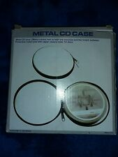CD Protective Case disk holder metal Hard case