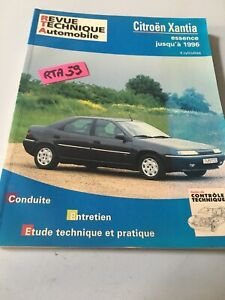 Revisión Automoción Citroen Xantia Gasolina Hasta 1996 RTA