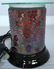 Woodwick Ruby Pebbles Straight  Electric Burner Suitable for Yankee Candle Tarts