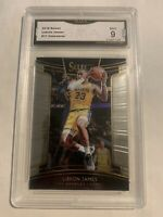 2018-2019 Panini Select LeBron James #11 Concourse GMA MINT-9 Los Angeles Lakers