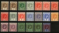 Leeward Islands KGVI 1938 good range of portrait issues to include shades Stamps